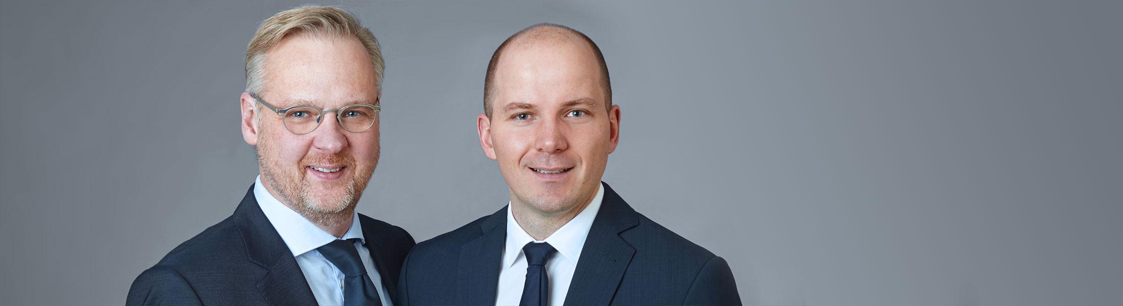 Jörg Wilms-Vahrenhorst und Marco Weiler